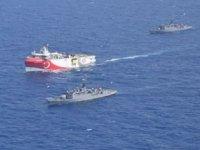 MTA Oruç Reis sismik araştırma gemisi, Yunanistan'ı harekete geçirdi