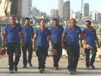 Türk ekipleri, Beyrut Limanı'ndaki çalışmalarını sonlandırdı