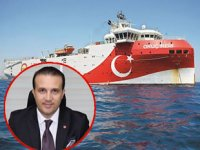 Vedat Doğusel, MTA Oruç Reis sismik araştırma gemisinin çalışmalarına destek verdi
