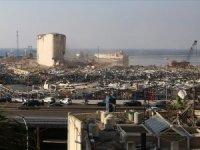 Beyrut Limanı korkunç patlamanın tüm izlerini hala taşıyor