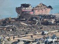 Lübnan'a 42 ülkeden 5 gemi yardım ulaştı