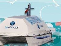 Kadıköy'de insansız tekne 'Doris' deniz üstünden çöp toplayacak