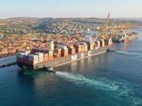 MSC Maya isimli konteyner gemisi, Asyaport'a yanaştı