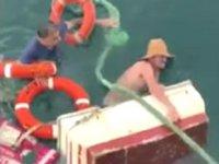 Büyükada açıklarında tekne battı: 2 kişi kurtarıldı