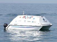 İnsansız tekne 'Doris' deniz üstünden çöp topladı