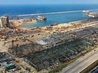 Beyrut Limanı'nda tehlike oluşturan maddeler tahliye edildi