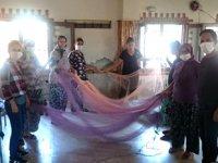 Serçinli kadınlar balık ağı örmeyi öğrendi