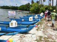 Sri Lanka'lı 10 aileye balıkçı teknesi dağıtımı yapıldı