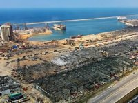 Beyrut Limanı'nda 4 ton 350 kilogram amonyum nitrat bulundu