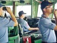Oruç Reis sismik gemisi ile TCG Gediz firkateyni arasındaki telsiz konuşmaları yayınlandı