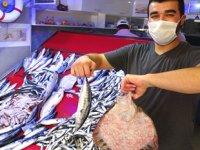 Ordulu balıkçıların tezgahları balıkla şenlendi