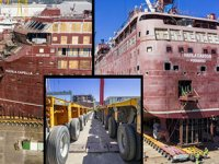 'Havila Castor' ve 'Havila Capella' isimli yolcu gemileri 1600 lastik üzerinde denize taşındı