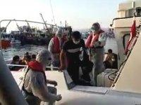 İzmir'de 48 düzensiz göçmen kurtarıldı
