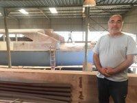 Dursun Gür öğretmenliği bıraktı, tekne ve yat inşa ediyor