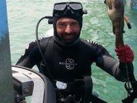 20 yıllık dalgıç Ali Çilingir gemi pervanesi temizlerken hayatını kaybetti