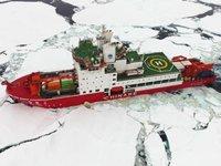 'Xuelong 2' isimli buzkıran gemisi, Kuzey Kutbu seferinden dönüyor