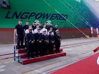 Dünyanın ilk LNG ile çalışan konteyner gemisi Jacques Saade, CMA CGM filosuna katıldı