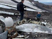 İzlanda'da düşen ABD uçağı, buzullar eriyince 76 yıl sonra bulundu