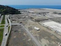 Rize-Artvin Havalimanı'nın dolgu çalışmaları yılsonuna kadar bitecek