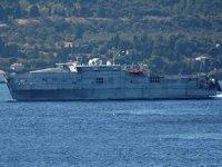 'USNS Yuma' isimli savaş gemisi, Çanakkale Boğazı'ndan geçti