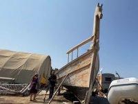 Tek bir çivi kullanılmadan inşa edilen Fenike teknesi Ekim ayında denize indirilecek