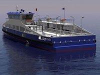 Amsterdam'da feribot filosu yenileniyor