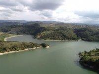 Kızılcapınar Barajı'nda su seviyesi düştü, içme suyunda koku arttı