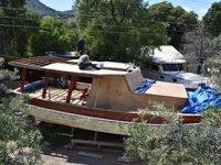 Tarlada inşa edilen tekneler yurtdışından da ilgi görüyor