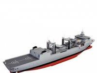 Denizde İkmal Muharebe Destek Gemisi'nin çelik kısmının yüzde 70'i tamamlandı