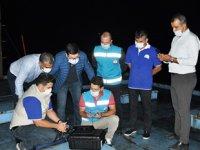 Muğla'da termal drone ile kaçak balık avı denetimi yapıldı