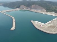 Filyos Liman inşaatındaki çalışmalar sona yaklaşıyor
