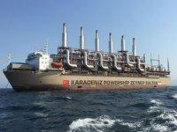 Zeynep Sultan gemisi, Endonezya'da elektrik üretimine başladı