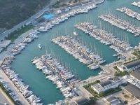 Teos Marina'da hızlı şarj istasyonu hizmet vermeye başladı