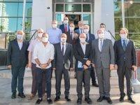 Tunç Soyer, İzmir Liman İşletmesi'ni ziyaret etti