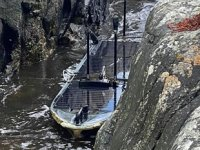 İskoçya kıyılarında casus tekne bulundu