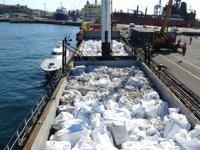 'Lord-1' isimli gemide 38 ton kaçak tütün ele geçirildi