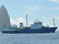 'Geo Searcher' isimli gemi, Atlantik Okyanusu'nda battı