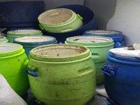 Erdek'te 300 kilo deniz patlıcanı ele geçirildi