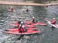 Yusufeli'ndeki yapay kano parkuru tekrar hizmete açıldı