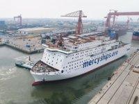 Global Mercy isimli dünyanın en büyük sivil hastane gemisinde sona yaklaşıldı