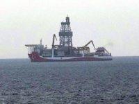 'Kanuni' sondaj gemisi, Bozcaada açıklarına demirledi