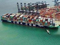 CMA CGM Jacques Saade konteyner gemisi rekor kırdı