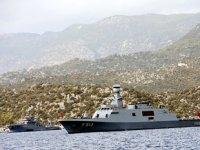 Türk savaş gemileri, Akdeniz'de bekliyor