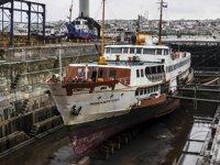 Haliç Tersanesi'nde bir yılda 45 gemi bakımdan geçti