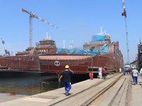 Yalova Tersaneler Bölgesi'nde kruvaziyer gemi inşasına başlandı