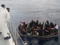 Ege Denizi'nde 202 düzensiz göçmen kurtarıldı