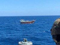 Basra Körfezi'nde bir teknede 450 kilo uyuşturucu ele geçirildi