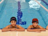 Denizsiz kentin çocukları milli yüzücü olmak için kulaç atıyor