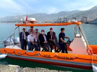 İMEAK DTO İskenderun Şubesi Yönetimi, İskenderun Deniz Üs Komutanı'nı ziyaret etti