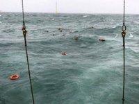 Petrol platformuna çarpan 'Dayang Topaz' isimli açık deniz destek gemisi battı
